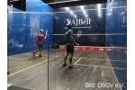 Einzel-EM 2017 - Tag 2: Sina Kandra und Raphael Kandra unterliegen in ihren Viertelfinals jeweils 1:3 - Jetzt geht es um die Plätze 5 - 8