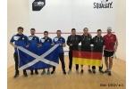 Herren Team WM: Deutschland zieht mit 2:1 Sieg über Schottland in Runde der letzten 16 ein