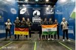 Herren Team WM: Deutschland unterliegt gegen Indien mit 1:2 Spielen